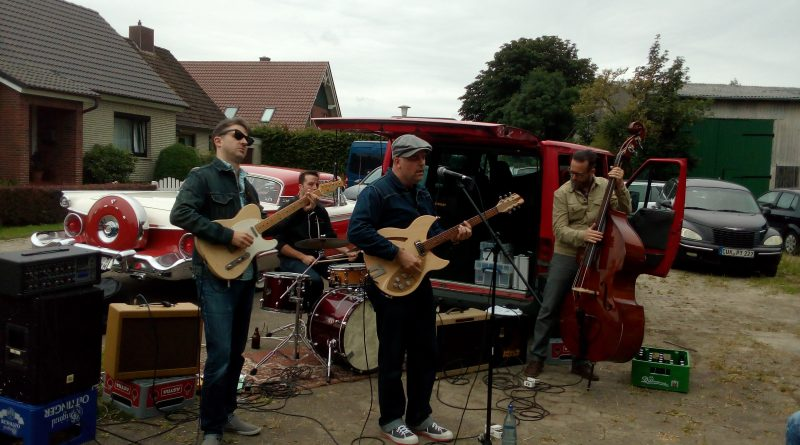 Twistes Rod & The Bellfuries bei Rhythm Bomb Records in Cuxhaven