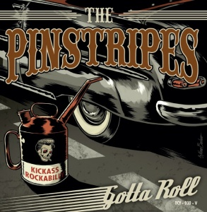 "Pinstripes - Gotta Roll - 7"" Single Vinyl"