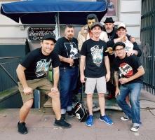 Die Hi-Boys aus Australien von Wild Records zu Gast